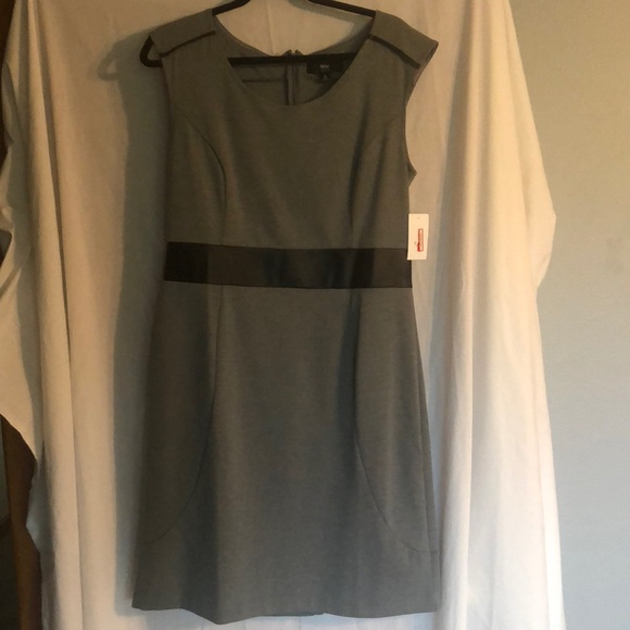 Massimo Dresses & Skirts - Sleeveless gray dress, size large.
